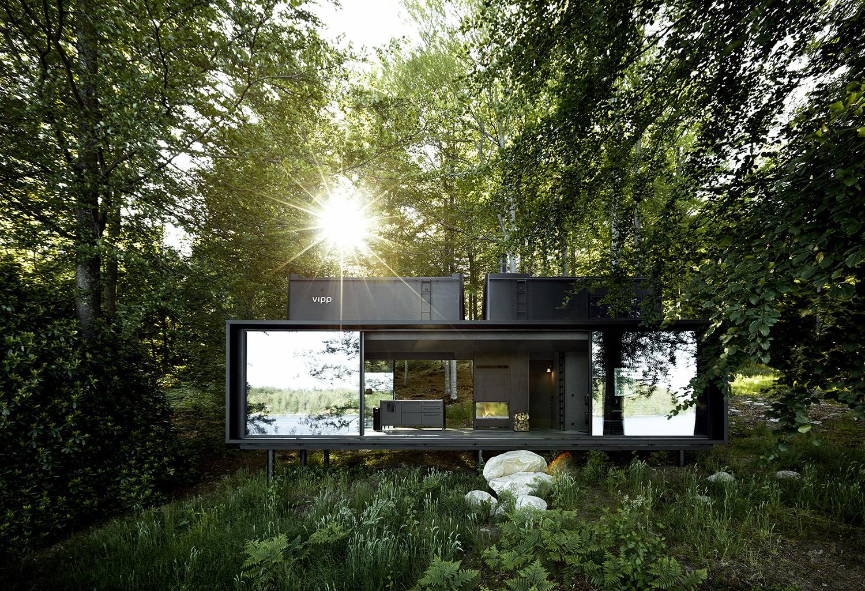 Vipp – mini hotel w zgodzie z naturą