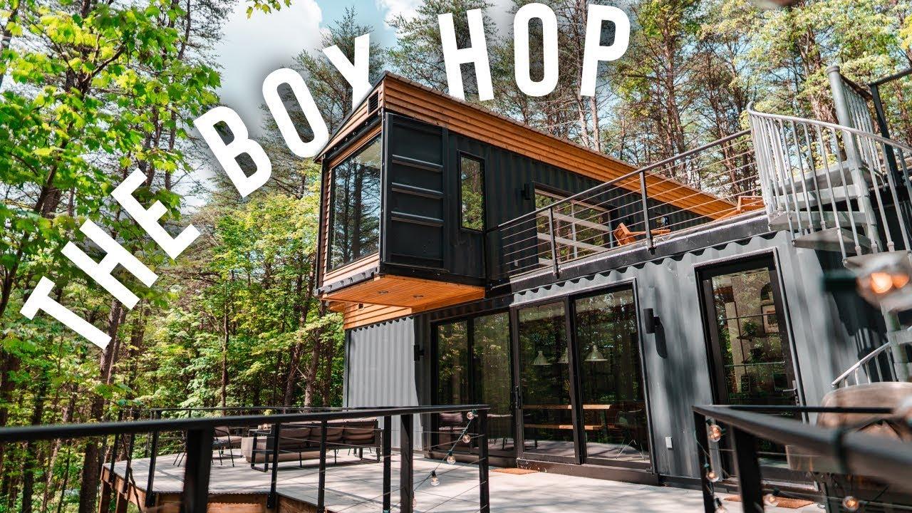 Dom z kontenera – Inspiracja Airbnb