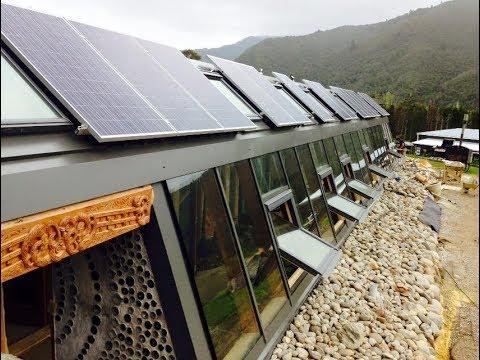 Przepiękny eko dom z recyklinu