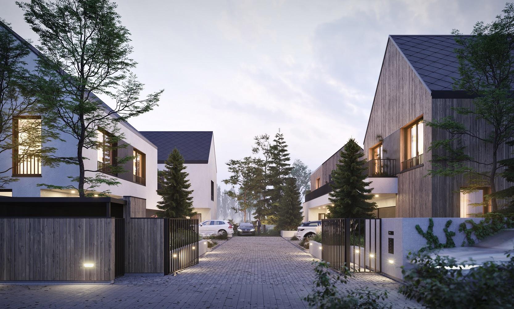 Architektura dialogu – osiedle unikatowych domów Zendo Wilanów