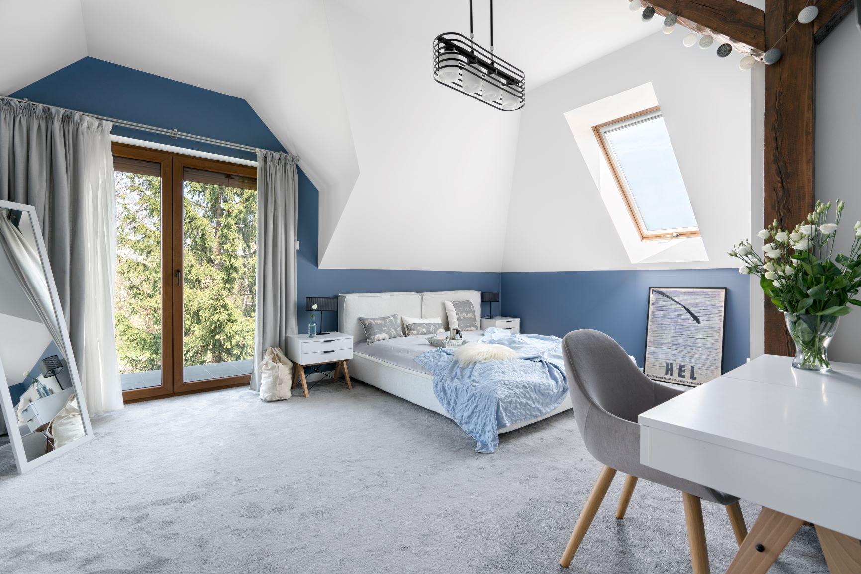 Przytulny dom w nowoczesnym stylu