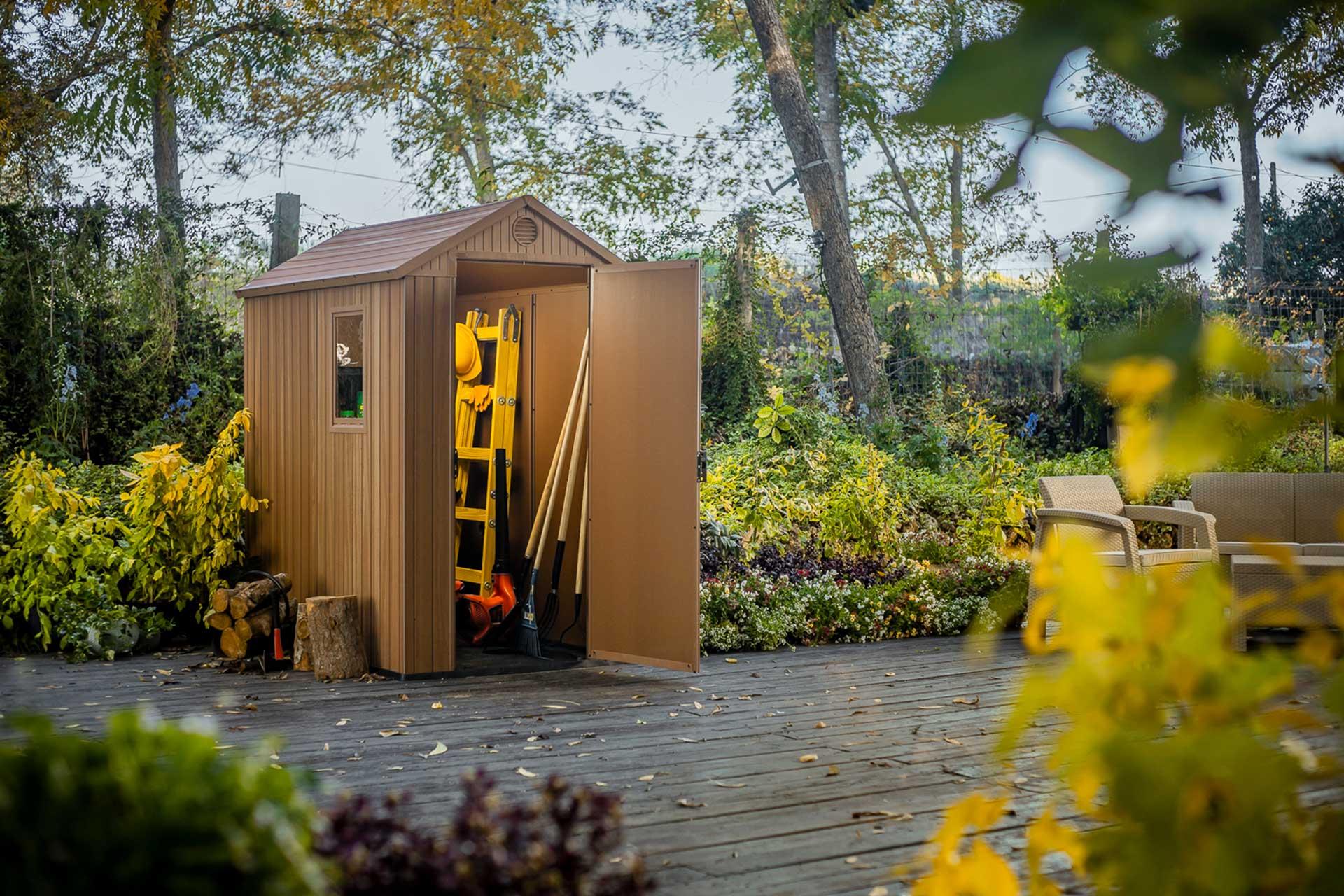 Jak z głową wybrać domek ogrodowy?